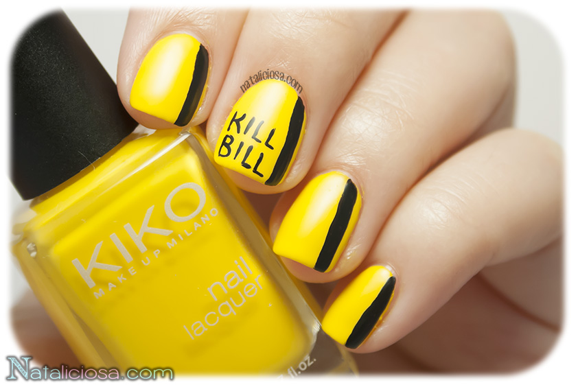 Kill Bill Nail Art