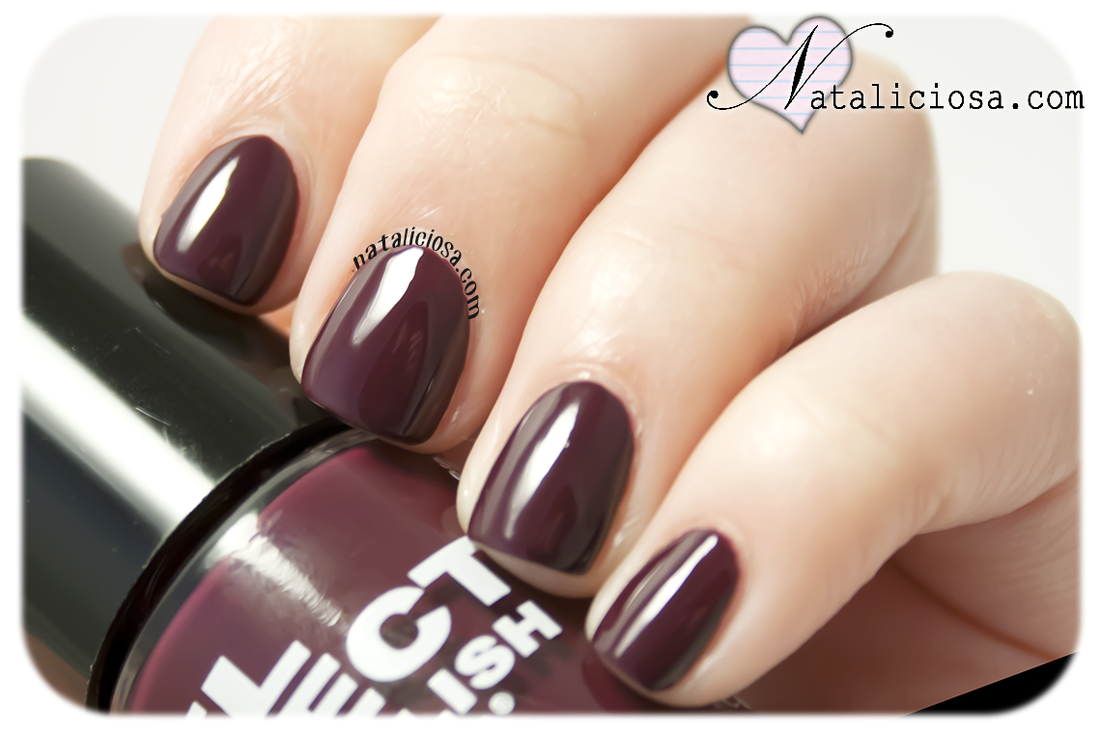 layla gel effect smooth purple nail art design ideas