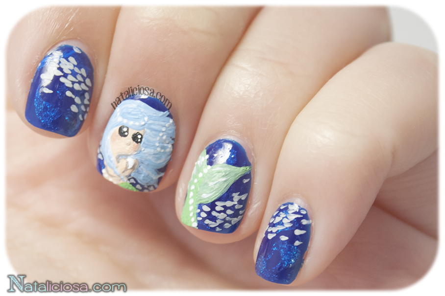 mermaid nail art ideas look at this manicure!