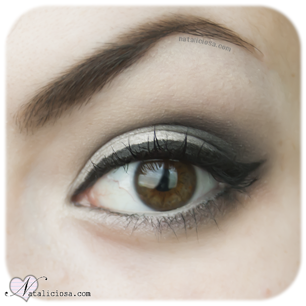 Look Ahumado en Blanco - White Smoky Eyes - Reto 16 Looks