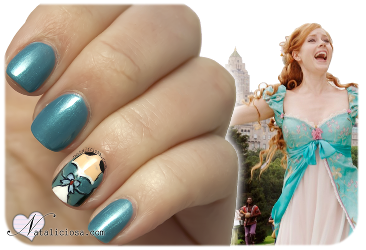 encantada disney enchanted nail art design manicure